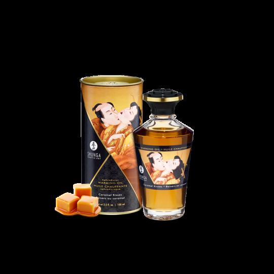 Huile chauffante aphrodisiaque - Baisers caramel