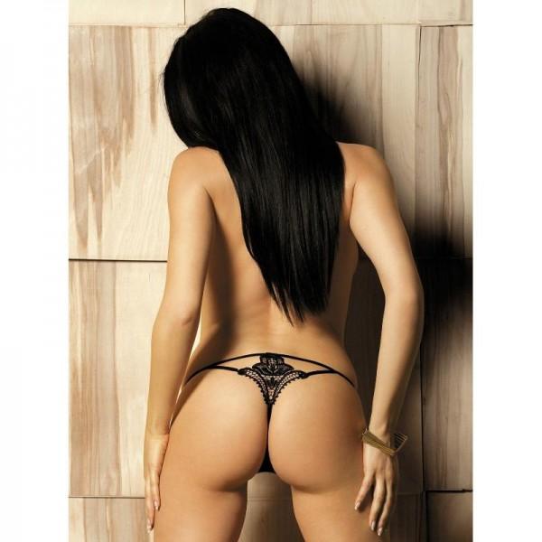 Luiza String - Noir