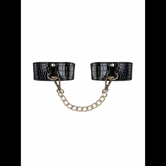A768 Menottes avec chaîne - Noir