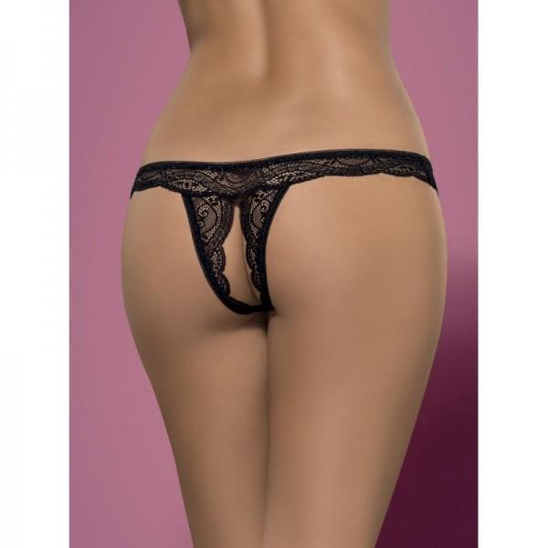 Miamor String Ouvert - Noir