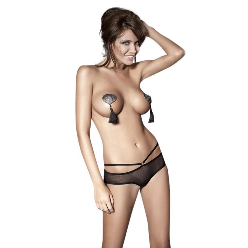Tess Culotte Ouverte - Noir