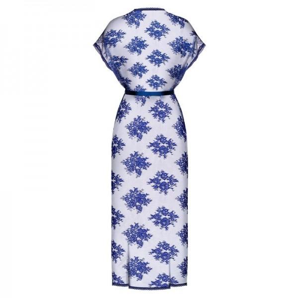 Flowlace Peignoir - Bleu
