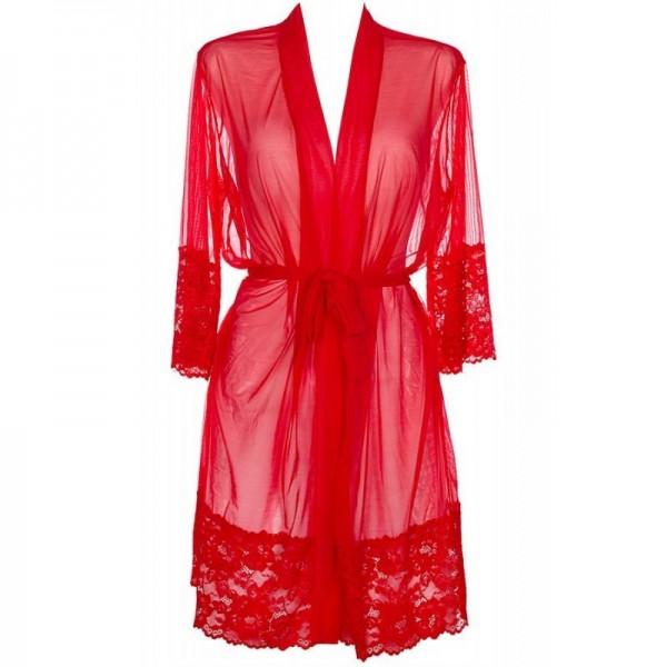 V-8860 Peignoir - Rouge