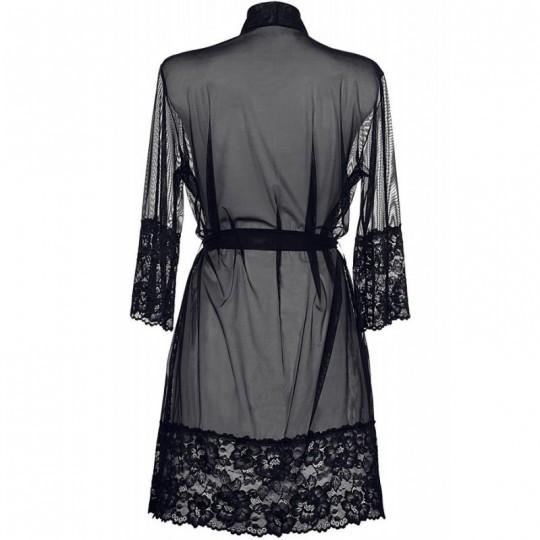 V-8840 Peignoir - Noir
