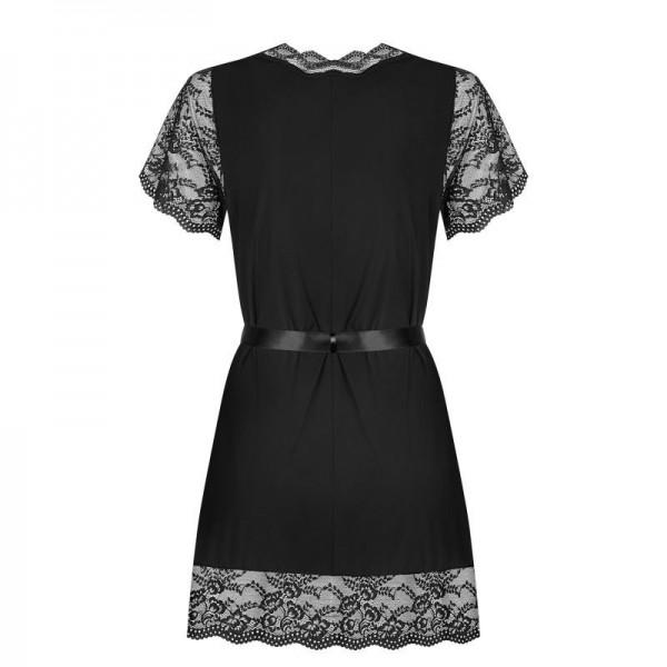 Luvae Peignoir - Noir
