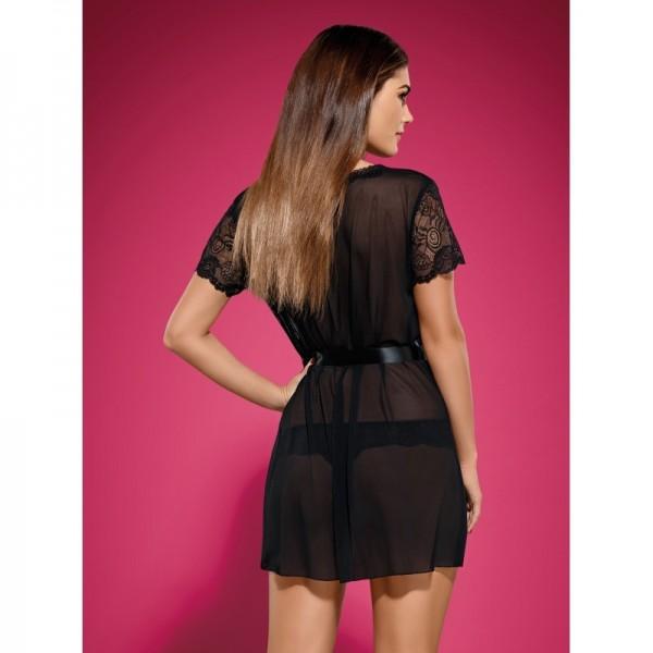 Alluria Peignoir - Noir