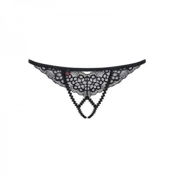 Liferia String ouvert - Noir