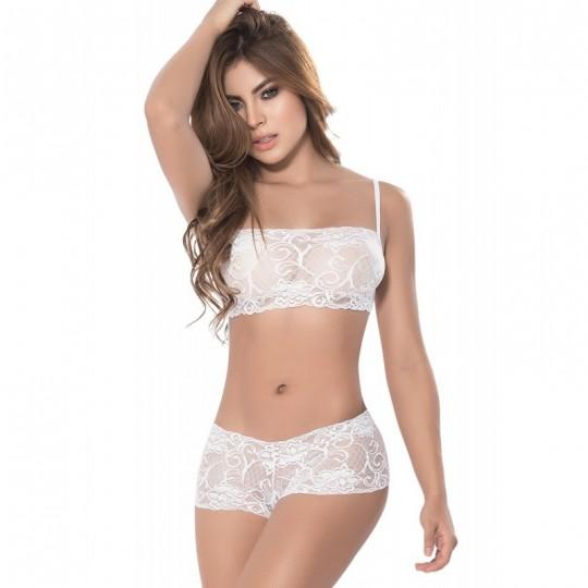 Ensemble 2 pcs Style 206 - Blanc