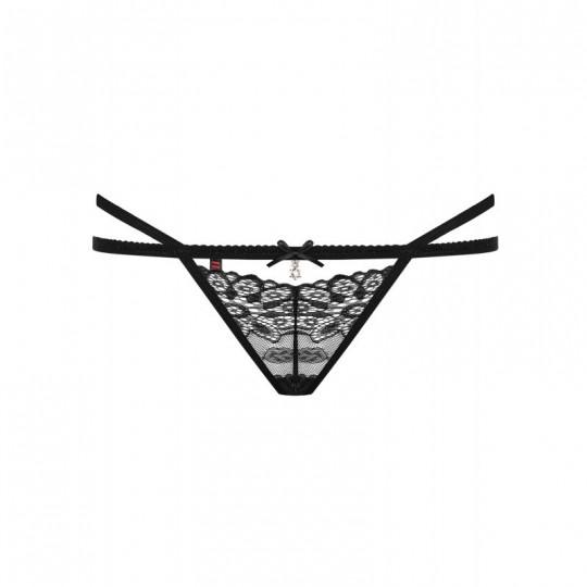 838-THO-1 String - Noir