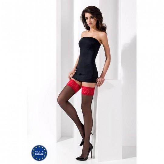 ST004 Bas 17 DEN - Noir et Rouge