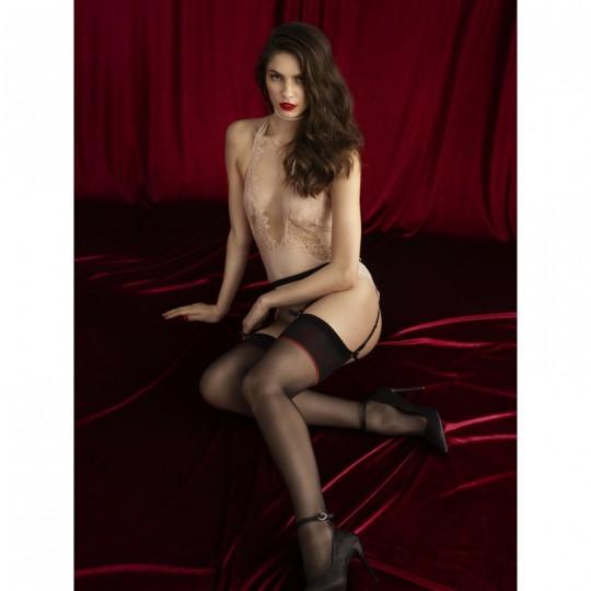 Amante Bas 20 DEN - Noir - Qualité premium