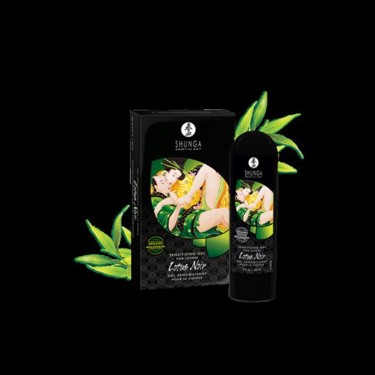 Gel sensibilisant pour couple - Lotus Noir