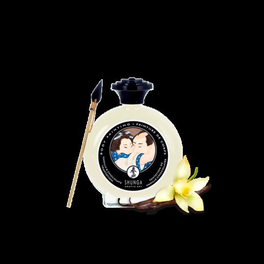 Peinture de corps embrassable - Chocolat blanc et Vanille