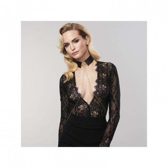 Désir Métallique - Collier - Noir